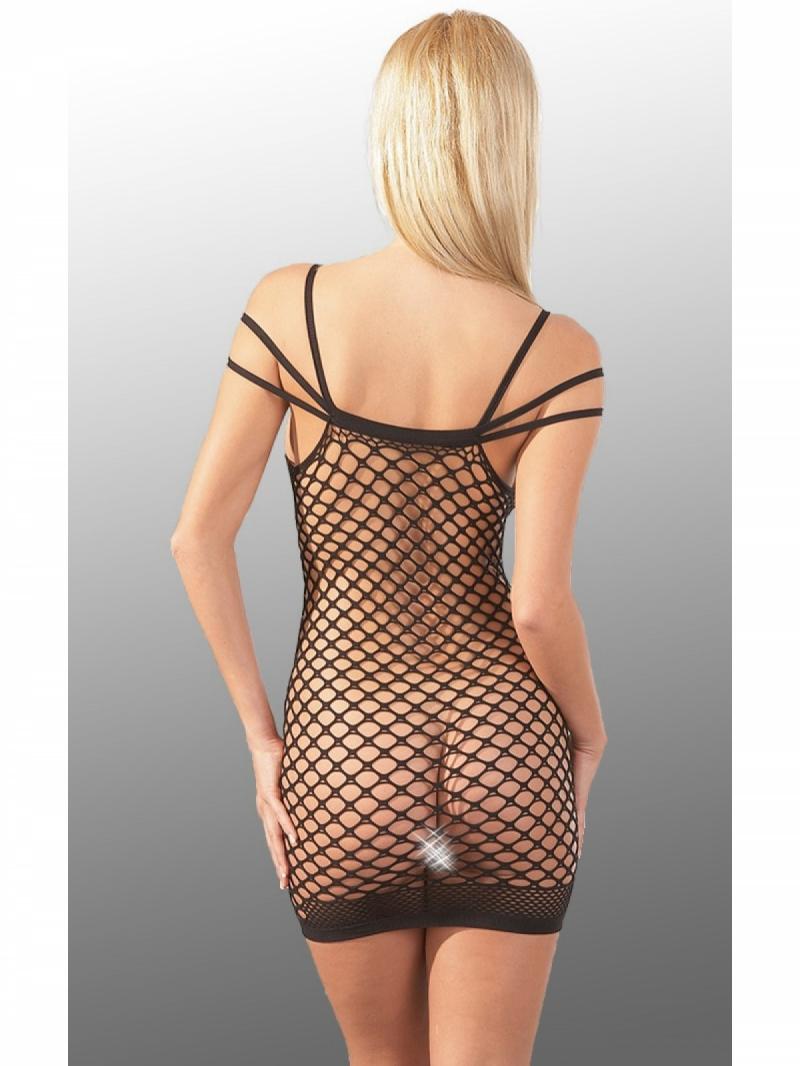 Платье сетка Netzkleid mit Träger