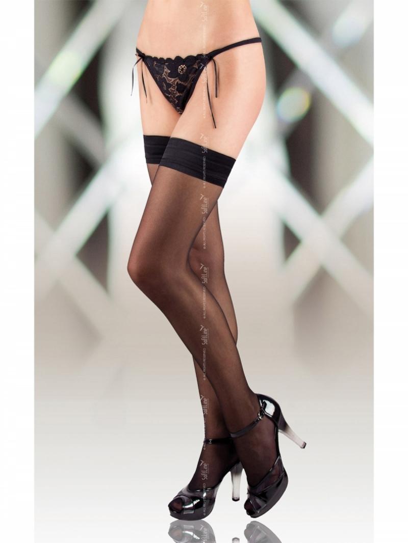 Чулки Stockings 5513 чёрные