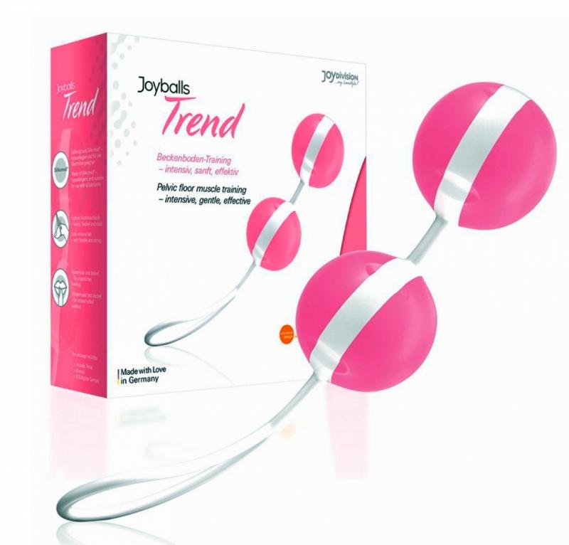 Вагинальные шарики - Joyballs, pink-white