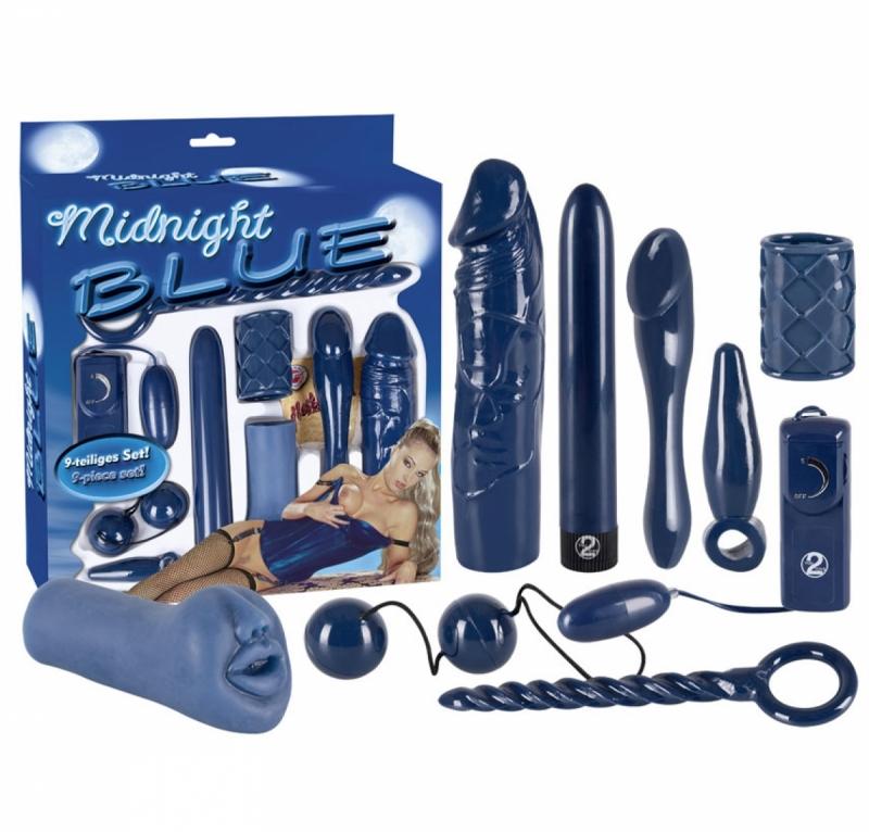 Midnight Blue Set / Набор Интим-Игрушек