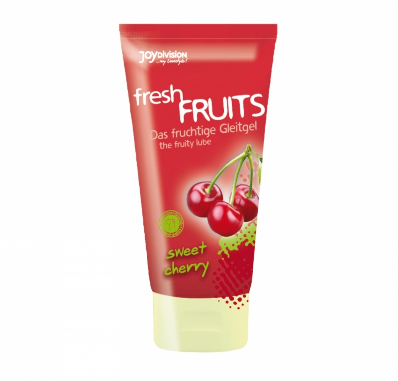Оральный лубрикант / freshFRUITS  сладкая вишня  150 мл