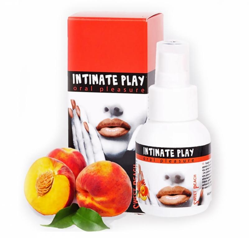 Ароматизированный интимный спрей /INTIMATE PLAY SWEET PEACH
