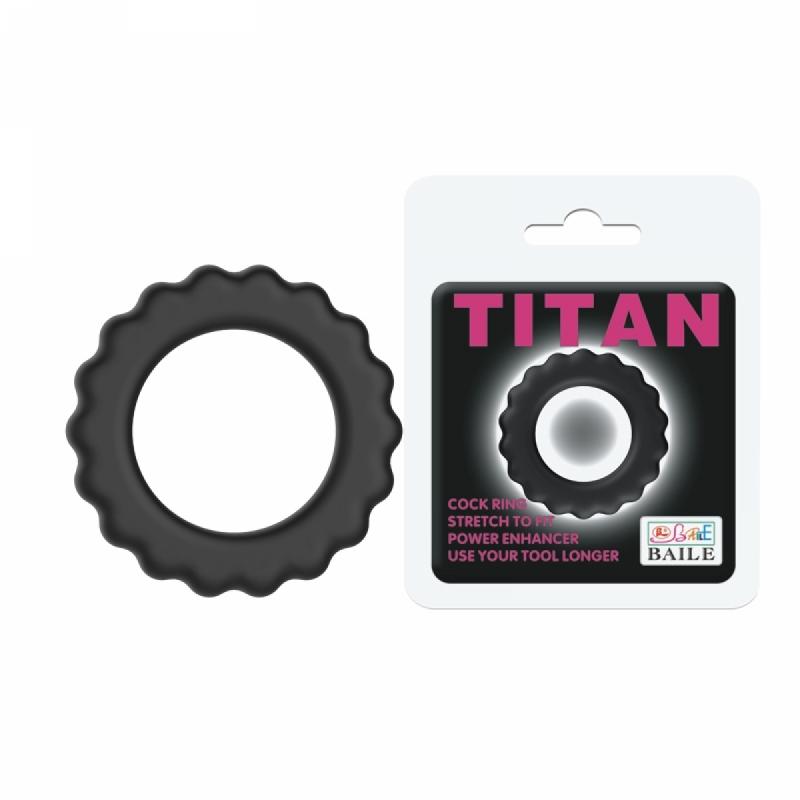 Эрекционное Кольцо TITAN Cock Ring Pink