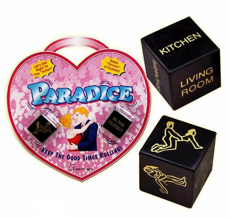 Секс-кубики Paradice чёрные