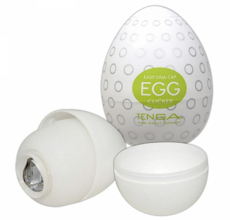 Мастурбатор-яйцо - Egg Clicker Single