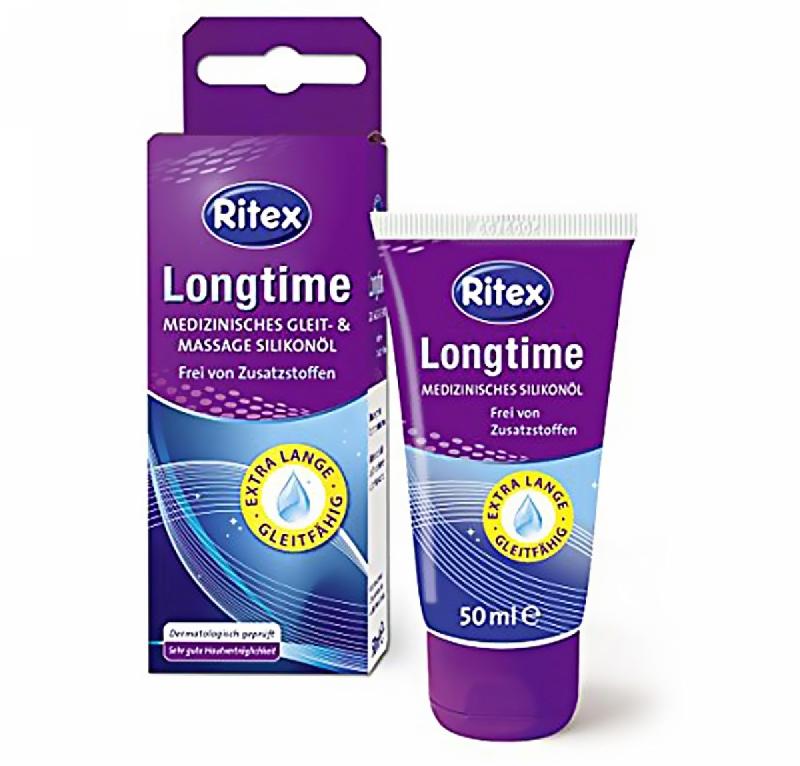 Лубрикант на силиконовой основе Ritex Longtime 50 ml