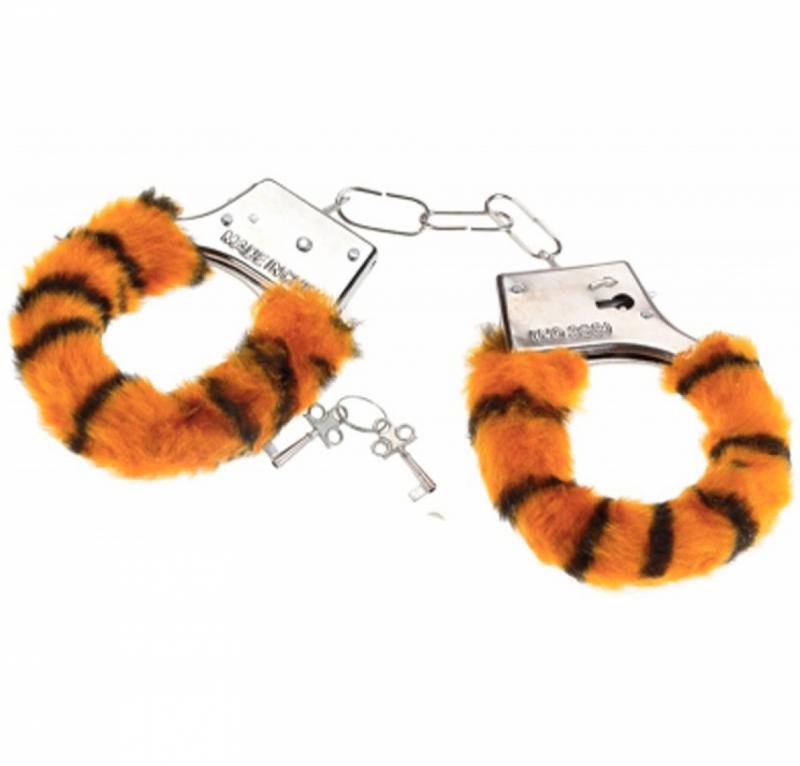 Наручники любимым тигровые