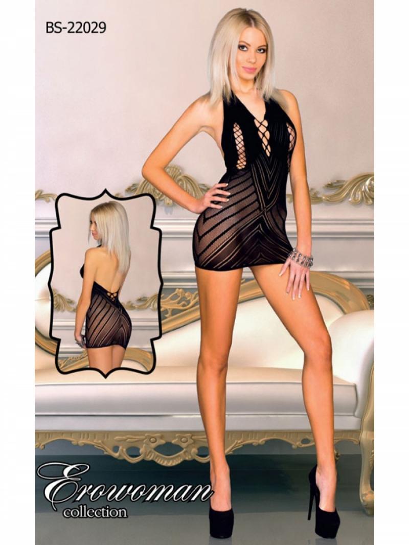 Платье с рисунком цвет чёрный, размер One Size
