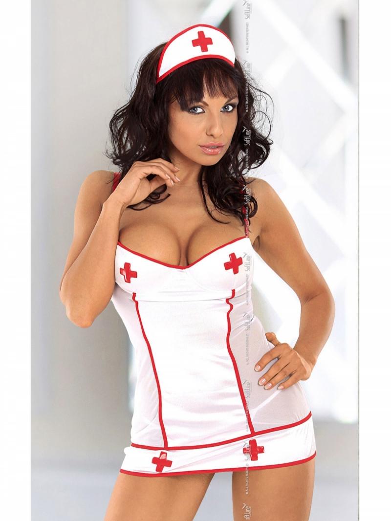 Костюм соблазнительной медсестры Tina