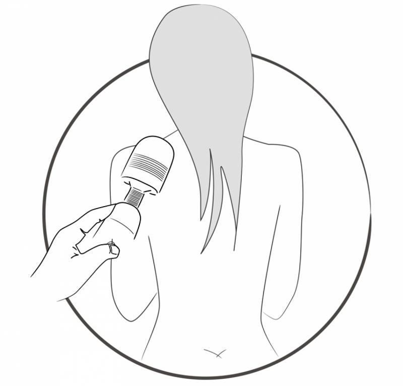 Вибромассажер  микрофон/ Women´s Spa Massager