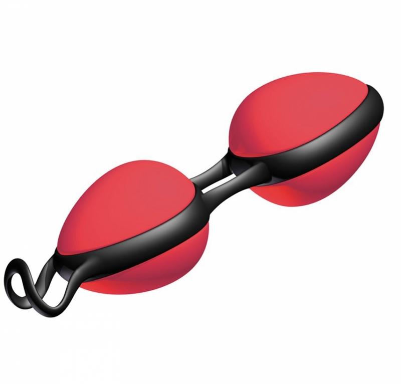 Вагинальные шарики - Joyballs secret, red-black