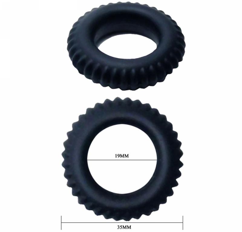 Набор Эрекционных Колечек TITAN cock ring set blue