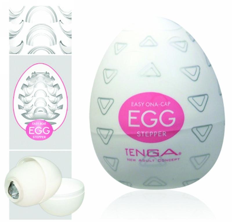 Мастурбатор-яйцо - Egg Stepper Single