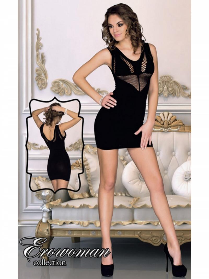 Платье цвет чёрный, размер One Size